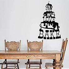 HGFDHG Cake wall decal bakery bakery offer logo