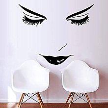 HGFDHG Eyelash Wall Sticker Art Wall Decal Beauty
