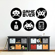 HGFDHG Game wall decals video game player logo