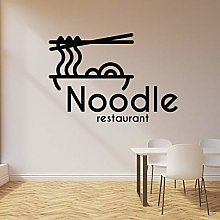 HGFDHG Noodle restaurant wall decals Asian