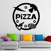 HGFDHG Pizza wall vinyl decal pizzeria sticker art
