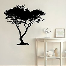 HGFDHG Tree wall decals beautiful forest nature