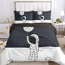 HGFHKL Space balloon baby boy baby quilt cover