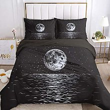 HGFHKL Space planet galaxy gray baby baby quilt
