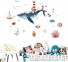 HGFJG Underwater World Children's Room Wall