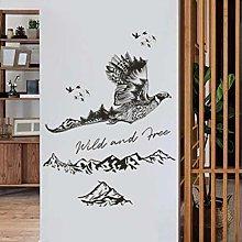 HGFJG Wall Sticker Porch Office Cabinet Sofa Tv