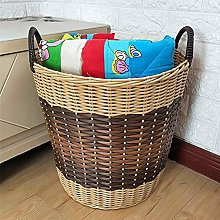Hgjhy Extra large plastic woven basket storage