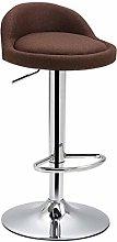 HGJINFANF Bar chair bar chair lift high stool