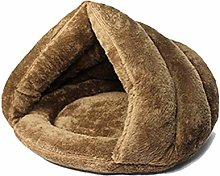 hgkl Cat bed Pet bed cat and dog soft nest kennel