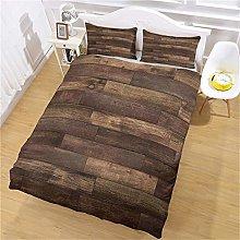 HHANN Duvet Cover Set Single Bed 135X200CM 3