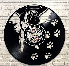 hhhjjj Creative clock vinyl wall clock wall clock