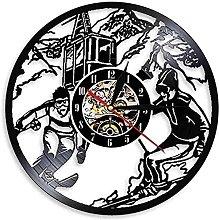 hhhjjj Ski vinyl wall clock ski wall clock