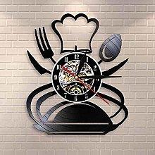 hhhjjj Vintage fork knife spoon kitchen wall art