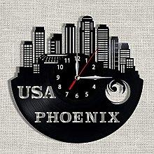 hhhjjj Vinyl Record Vinyl Clock City Phoenix Vinyl