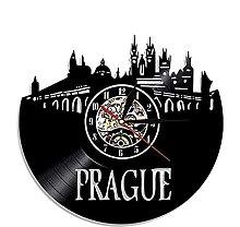 hhhjjj Vinyl wall clock vinyl wall clock Prague