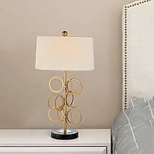 HHJJ Table/Desk Lamp, Bedside American Retro