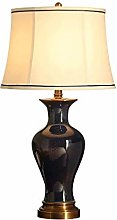 HHJJ Table Lamp,Desk Lamp with Bulb Included -