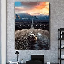 HHLSS Canvas print 11.8x19.7 in(30x50cm) no frame