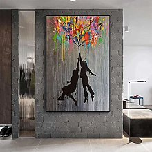 HHLSS Print on canvas 27.6x35.4 in(70x90cm) no
