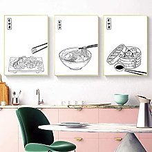 HHLSS wall pictures 3 piece 19.7x27.6 in(50x70cm)