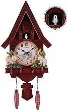 HHORD Cuckoo Clock with Night Sensor,Adjustable