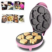 HHORD Mini Waffle Maker- Create 7 Different Shapes