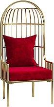 HHOSBFSS Imitation Birdcage Sofa and Chair, Single