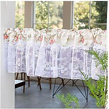 HHXD Embroidery Short Window Curtain Printing Rod