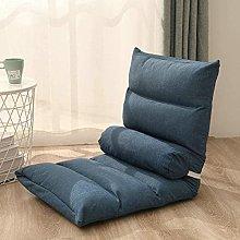 HHXX Floor Chair, Sofa Lazy Chair, Foldable Padded