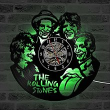 HHYXIN LED Wall Clock The Rolling Stone Band