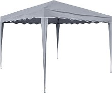 HI Foldable Party Tent 3x3 m Anthracite