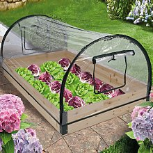 HI Greenhouse With Wooden Frame 120x80x50 cm