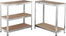 HI Heavy Duty Shelf Cabinet 180x90x40 cm