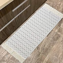 hi-home Area Rug for Living Room, Cotton Small