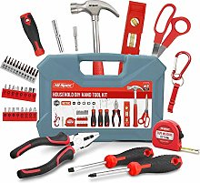 Hi-Spec 42 Piece Household DIY Hand Tool Kit Set.