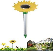 Hi Suyi Solar Powered Ultrasonic Mole Repeller