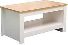 Hi-Well Furniture Coffee Table Small Side Storage