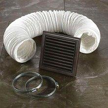 HIB - Brown Ventilation Fan Accessory Kit