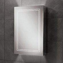 HiB Edge 50 Aluminium LED Single Door Bathroom