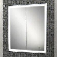 HiB Vanquish 60 Double Door Recessed LED Bathroom