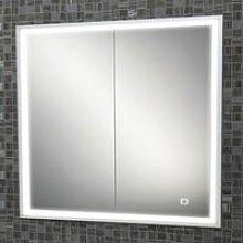 HiB Vanquish 80 Double Door Recessed LED Bathroom