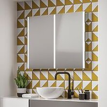 HiB Xenon 100 Double Door Bathroom Cabinet with