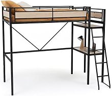 Hiba High Bunk Bed with Mini Desk by La Redoute