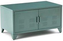 Hiba Low 2-Door Metal Cabinet by La Redoute
