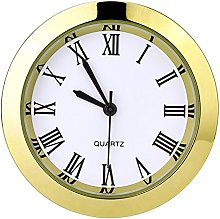 Hicarer 1-1/2 Inch (37 mm) Round Quartz Clock