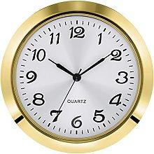 Hicarer 1.8 Inch (45 mm) Round Quartz Clock Insert