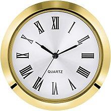 Hicarer 2-1/8 Inch (55 mm) Quartz Clock