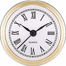Hicarer 2.4 Inch (61 mm) Quartz Clock