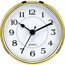 Hicarer 3-1/2 Inch (90 mm) Quartz Clock