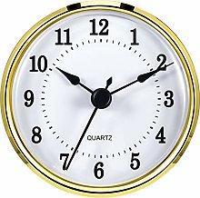 Hicarer 3-1/8 Inch (80 mm) Clock Insert Fit